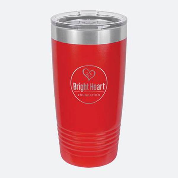 Bright Heart Foundation - Red Tumbler Drinkware